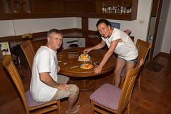 Bithday party of Ann (Phuketian.S) Tags: birthday party phuket girl woman portrait boy child cake interior happy family travel