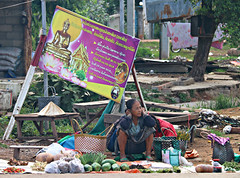 Sepon (bindubaba) Tags: laos sepon markets traders vegetables