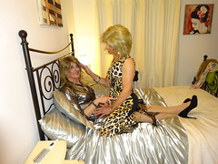 An evening of promise (Julie Bracken) Tags: satin kelayla transvista cd tgurl feminized xdresser mature old tv portrait hair red fashion transvestite mini skirt transgender m2f mtf transsisters enfemme ginger redhead party tranny trannie heels nylon julieb85 crossdressing crossdresser tgirl feminised 2018 kinky pantyhose crossdress polyamorous lgbt kelayla03