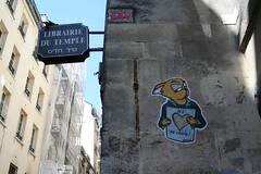 Dared (Jürgo) Tags: paris parisstreetart streetart france urbanart streetartfrance publicart paste pasteup wheatpaste poster posterart dared