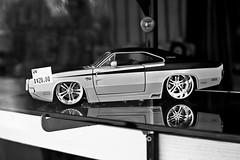 Dodge charger R/T - infrared (JSB PHOTOGRAPHS) Tags: dsc5856 dodge charger infrared nikon 1870mm d70 blackandwhite bw bokehlicious bokeh infraredconvertedcamera