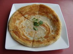 Green Onion Pancake (knightbefore_99) Tags: theone green onion pancake chinese taiwanese kingsway vancouver bc parsley cilantro dish art tasty delicious great best baked