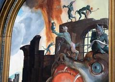 The Last Judgement (detail)   Lucas van Leyden   1526–27   The Rijksmuseum-45 (Paul Dykes) Tags: rijksmuseum museumofthenetherlands art gallery museum amsterdam netherlands nl holland