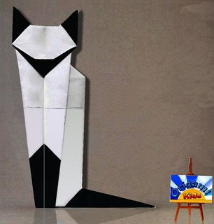 How to Make the Origami Siamese Cat by Martha Mitchen