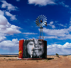 Rez Life (CEBImagery.com) Tags: art clouds indian jetson navajo orama reservation street windmill