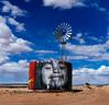 Rez Life (CEBImagery.com) Tags: art clouds indian jetson navajo orama reservation street windmill