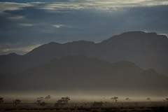 Misty Morning ([dscphoto]) Tags: namibia morning mist layers mountains desert