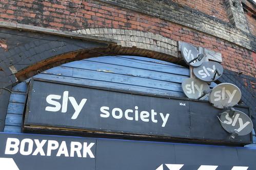 Sly Society, Shoreditch High Street