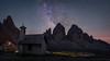Rifugio Locatelli (Bastian.K) Tags: sterne italien milky way milkyway milch strase strasse milchstrase italy dolomites dolomiten astro astrophotography twan nightphotography high iso long exposure