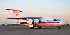 Royal Air Force British Aerospace 146-200CC ZE701 (Thames Air) Tags: royal air force british aerospace 146200cc ze701