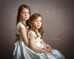 Smile Just Once... (Allan James Fisher) Tags: children studio nikon child fineart