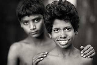 Bangladesh, street kids in Khulna