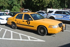 New York Police Department Highway Patrol (Emergency_Spotter) Tags: new york police department ny nypd ford crown victoria taxi fare undercover elusive rare yellow cab vic sneaky