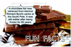 Postcrossing US-5278278 (booboo_babies) Tags: candy chocolate funfacts food southpole sweet sweets chocolatebar postcrossing