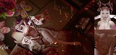 Princess Ninja (RuriMoon) Tags: anime art animehead animemanga accion albino angel animemangajapanavipick manga japan avipick sugoii kawaii ninja secondlife sl