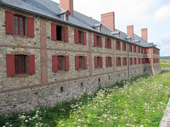 Waterless Moat (daryl_mitchell) Tags: louisbourg fortress national historic site capebreton island novascotia canada summer 2017 bastion moat