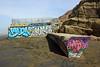 Graffiti on the Beach (JB by the Sea) Tags: sanfrancisco california april2018 fortfunston beach graffiti