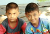 contrasting expressions (the foreign photographer - ฝรั่งถ่) Tags: two boys children contrasting expressions khlong thanon portraits bangkhen bangkok thailand canon