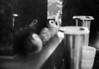 対岸 (opposite bank) (Dinasty_Oomae) Tags: zoriki zorki4 ゾルキー ゾルキー4 russiancamera ロシアカメラ sovietcamera ソ連カメラ 白黒写真 白黒 monochrome blackandwhite blackwhite bw outdoor 千葉県 千葉 chiba 船橋 船橋市 funabashi フクロウ 梟 owl 反射 reflection