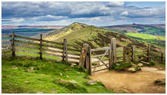 The Great Ridge (Ian Emerson) Tags: peakdistrict derbyshire hope tor mamtor ridge landscape outdoor gate stile clouds april picoftheday canon 1855mm fence stunning scenic beauty path hiking training