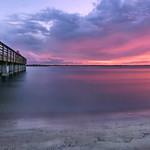 The fishing pier at Smyrna Dunes Park. thumbnail