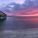 The fishing pier at Smyrna Dunes Park.