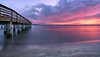 The fishing pier at Smyrna Dunes Park. (Jill Bazeley) Tags: smyrna dunes park volusia county beach florida indian river halifax intracoastal waterway pier dock jetty sunset sunrise sony a6300 1018mm