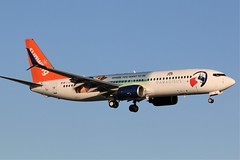 Here is SunWing Airlines(Paradisus Livery) C-GKVL (shumi2008) Tags: sunwingairlines sunwingairlines737 boeing738 b737800 torontopearson pearsonairport yyz cyyz