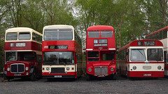 Vintage Southampton Buses (fstop186) Tags: southampton bus publictransport red vintage routemaster