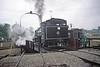 Spinning in the Rain (craigsanders429) Tags: steamlocomotives steamengine viscosecompanyno6 viscoseno6 turntrable owossomichigan rain