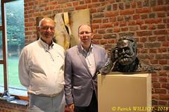 IMG_9428 (Patrick Williot) Tags: exposition vernissage ecuries sculpteur michal peintre genevieve nicolas