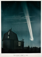 """The great comet of 1881 from the Trouvelot<br />astronomical drawings (1881-1882) by <a href=""""https://www.rawpixel.com/search/etienne%20leopold%20trouvelot?&page=1"""">E. L. Trouvelot</a> (1827-1895) (Free Public Domain Illustrations by rawpixel) Tags: antique astronomical astronomy celestial comet drawing etienne etienneleopoldtrouvelot galaxy handdrawn leopold lithography nature nightsky old planet science solarsystem space stars thegreatcometof1881 trouvelot trouvelotastronomicaldrawings universe vintage"""