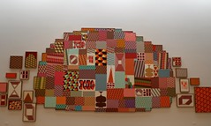 """Untitled,"" Acrylic on panel by Barry McGee (ali eminov) Tags: paloalto california universities stanforduniversity museums cantorartscenter painters barrymcgee paintings untitled"