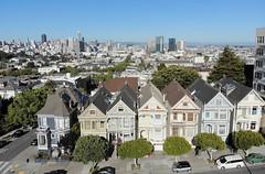 (A Sutanto) Tags: san francisco drone aerial alamo square icon iconic landmark city landscape cityscape sf ca california usa america view