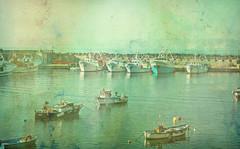 (Angela Schlafmütze) Tags: portici napoli mare barche meer boote orizzonte horizont cartolina postkarte