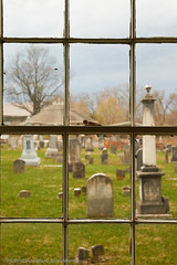 2018-04-28 17-51-16 (_MG_3226) (mikeconley) Tags: johnstown newyork eriecanal graveyard cemetery church window tombstone fortherkimer usa