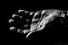 Hand II (#Weybridge Photographer) Tags: adobe lightroom canon eos dslr slr mk ii studio black background low key monochrome hand fingers mkii