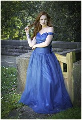 Jenny (Charles Connor) Tags: beautiful beautifulgirls beauty portraits peoplephotography people redhair hair bluedress