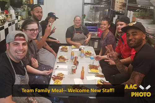 """Team Family Meal • <a style=""""font-size:0.8em;"""" href=""""http://www.flickr.com/photos/159796538@N03/42026435071/"""" target=""""_blank"""">View on Flickr</a>"""