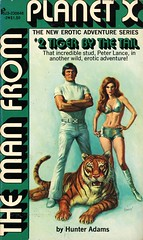 Pinnacle Books 646-2 - Hunter Adams - Tiger by the Tail (swallace99) Tags: pinnacle vintage 70s erotic sf scifi sciencefiction paperback bruceminney lylekenyonengel