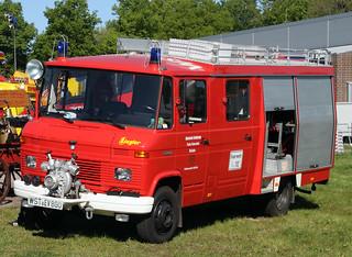 Mercedes fire van