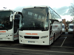 Finglands 381 YX59FUO (yorkcoach2) Tags: york manchester finglands381 381 finglands volvo finglandscoachwaysltd eyms stgeorgesfieldcoachpark