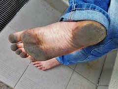 dirty city feet 547 (dirtyfeet6811) Tags: feet sole barefoot dirtyfeet dirtysole cityfeet