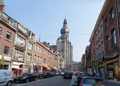 calle Rue Adolphe Sax Colegiata Notre Dame de Dinant Belgica (Rafael Gomez - http://micamara.es) Tags: calle rue adolphe sax colegiata notre dame de dinant belgica