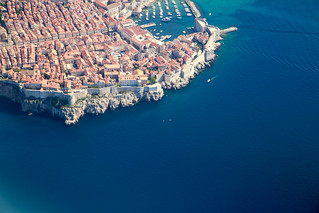 Dubrovnik from the plane