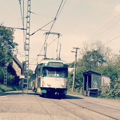 Proseč nad Nisou (Ellenalu86) Tags: prosecnadnisou tschechien czech transport verkehr öffentlicherverkehr publictransport traveling reisen strasenbahn tram tatrat2 t2 phototraveller snapshot tramvaj strasenbahnromantik