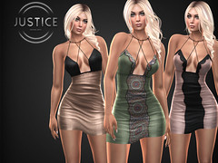 JUSTICE PHOEBE  DRESS ([:.UNDERGROUND & JUSTICE.:]) Tags: secondlife fashion avatar virtualworld 3d 2ndlife maitreya slink physique hourglass belleza venus isis freya