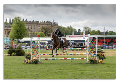 Horse trails 2018, going to the left? (johnhjic) Tags: johnhjic nikon d850 nikond850 chatsworth chatsworthhouse darbyshire 2018 horse house horsetrials jumps jump fence fences flags flag sky clouds cloud derbyshire uk england horses fance eventing event threeday 3day 3 day show blue yellow white red green hat seat seats flowers flower windows window helmet flying action sport motion rydale cloth clothing cloths ground ring leather straps fountain