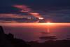 Hebridean Searchlight (Kieran Campbell) Tags: inverpolly sunset sea scotland stacpollaidh highlands minch alba