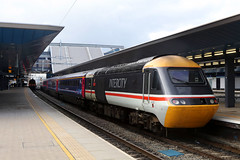 43185, Reading, February 16th 2017 (Southsea_Matt) Tags: 43185 class43 brel firstgreatwestern highspeedtrain intercity125 reading berkshire england unitedkingdom february winter 2017 canon 80d train railway railroad transport freight diesellocomotive swallow